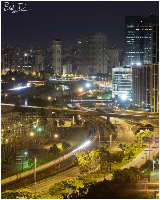 Sao Paulo Nightscape