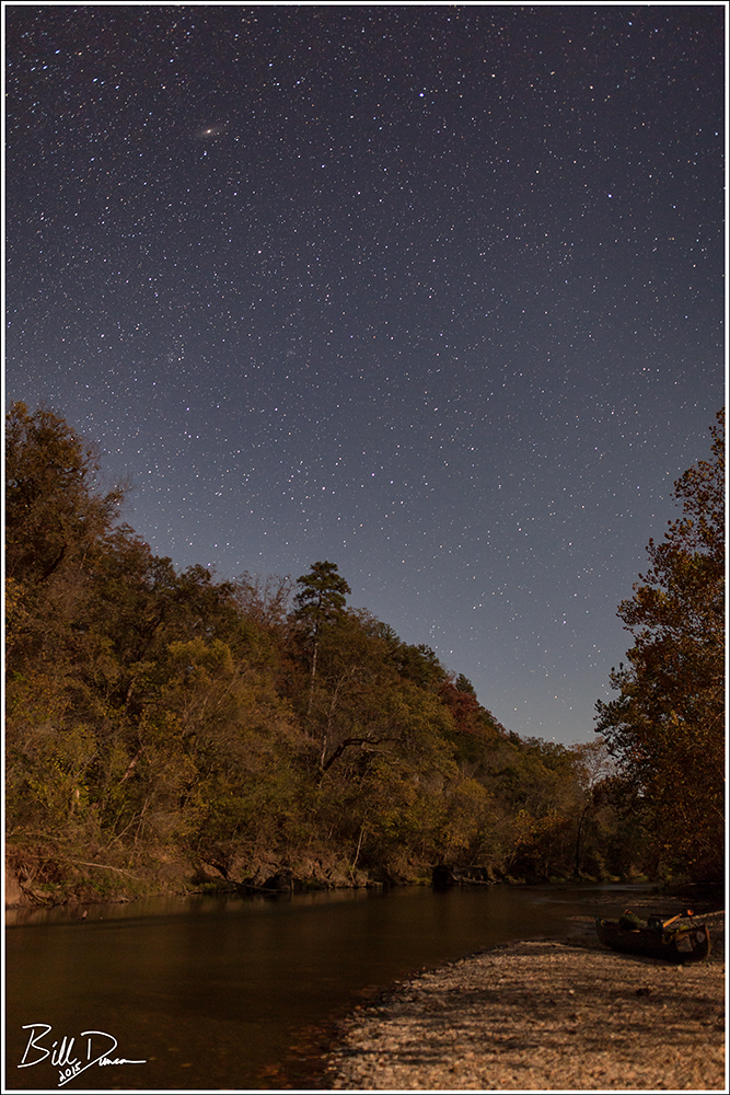 Nightscape on the Upper Current